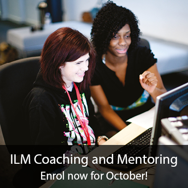 ILM Coaching and Mentoring courses
