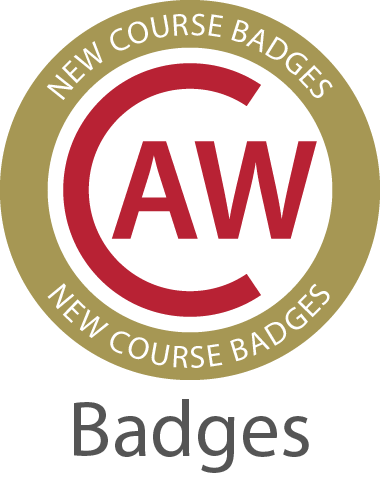 CAW Course Badges