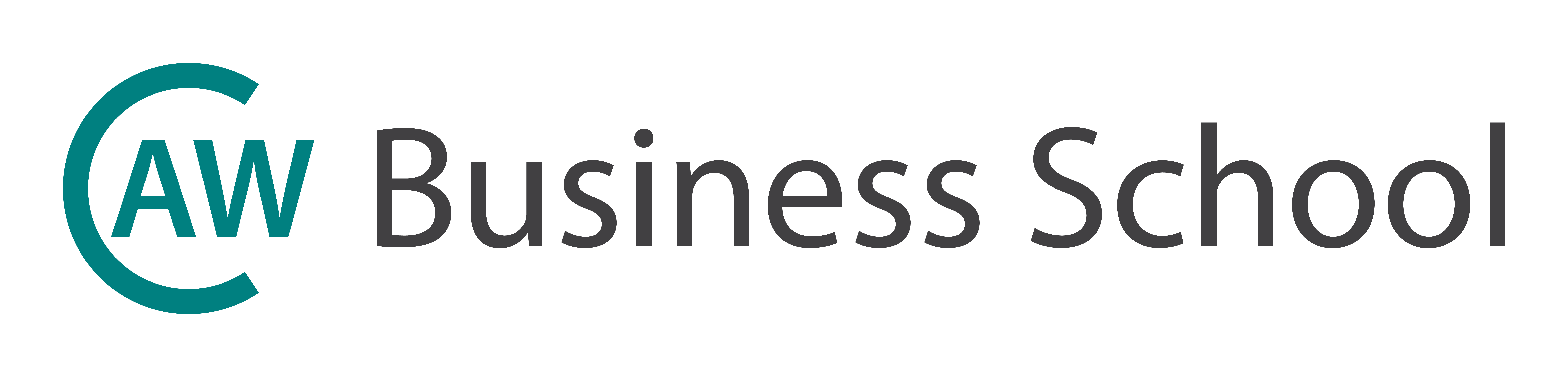 The CAW Business School Logo
