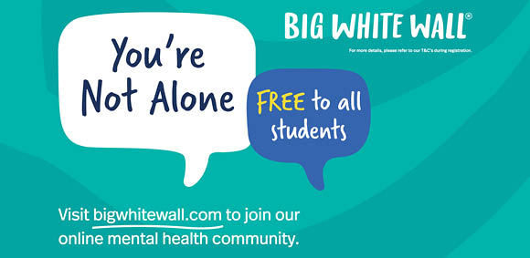 Big White Wall - free student access