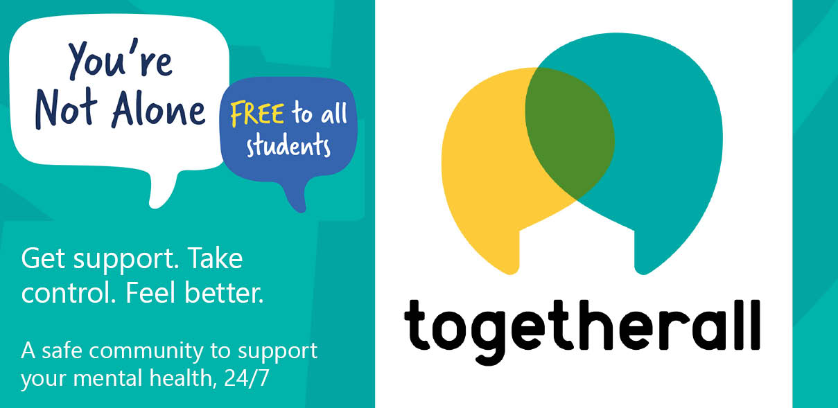 Togetherall aka Big White Wall - free student access