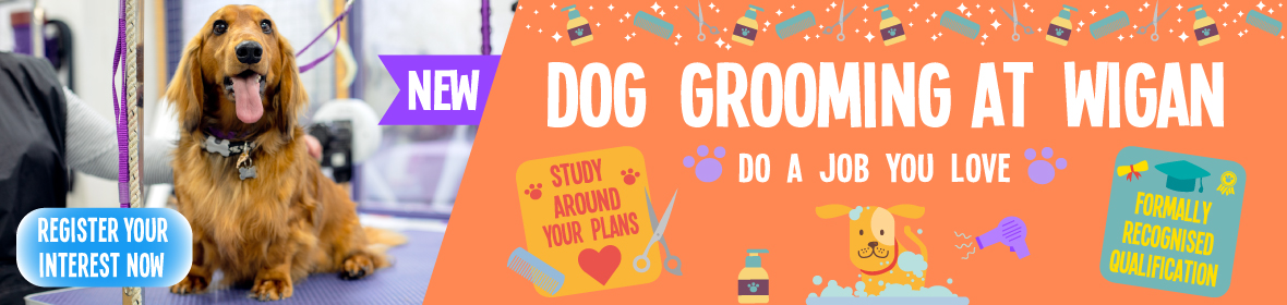 Dog Grooming courses Wigan