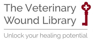 The Veterinary Wound Library logo