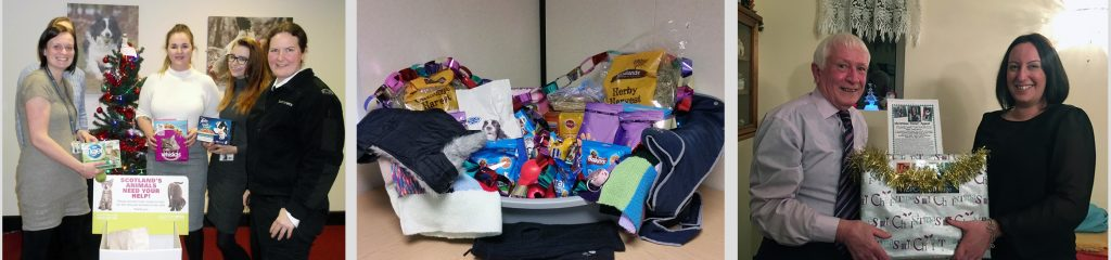 Donations collected during our 2016 Christmas appeals.