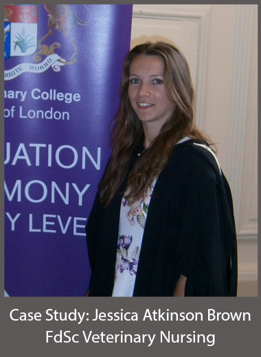 Jessica Atkinson Brown FdSc Veterinary Nursing