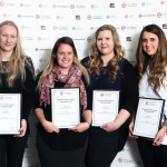 Veterinary nursing student award winners