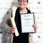 Rebecca Rutherford-West: Level 3 Diploma in Veterinary Nursing, Personal Achievement Certificate