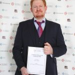 James Ashfield: Level 3 Diploma in Veterinary Nursing, Personal Achievement Certificate
