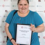 Kathryn Holmes: Level 3 Diploma in Veterinary Nursing, Personal Achievement Certificate
