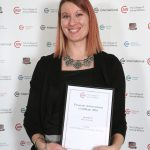 Kelly Forester: Level 3 Diploma in Veterinary Nursing, Personal Achievement Certificate