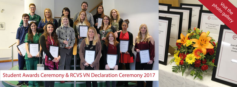 The College of Animal Welfare Student Awards 2017