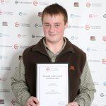 Callum Gomersall: Level 2 Diploma in Work-based Animal Care, Personal Achievement Certificate