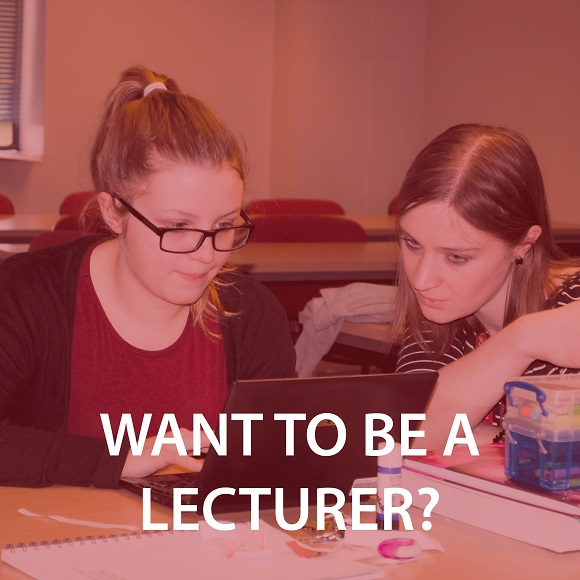 Become a lecturer