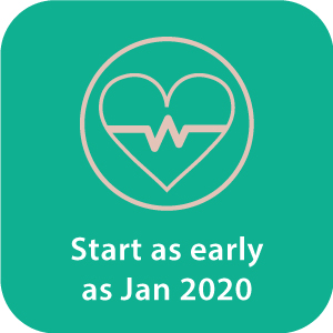 Start as early as Jan 2020