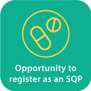 Opportunity to register as an SQP