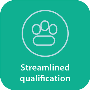 Streamlined qualification