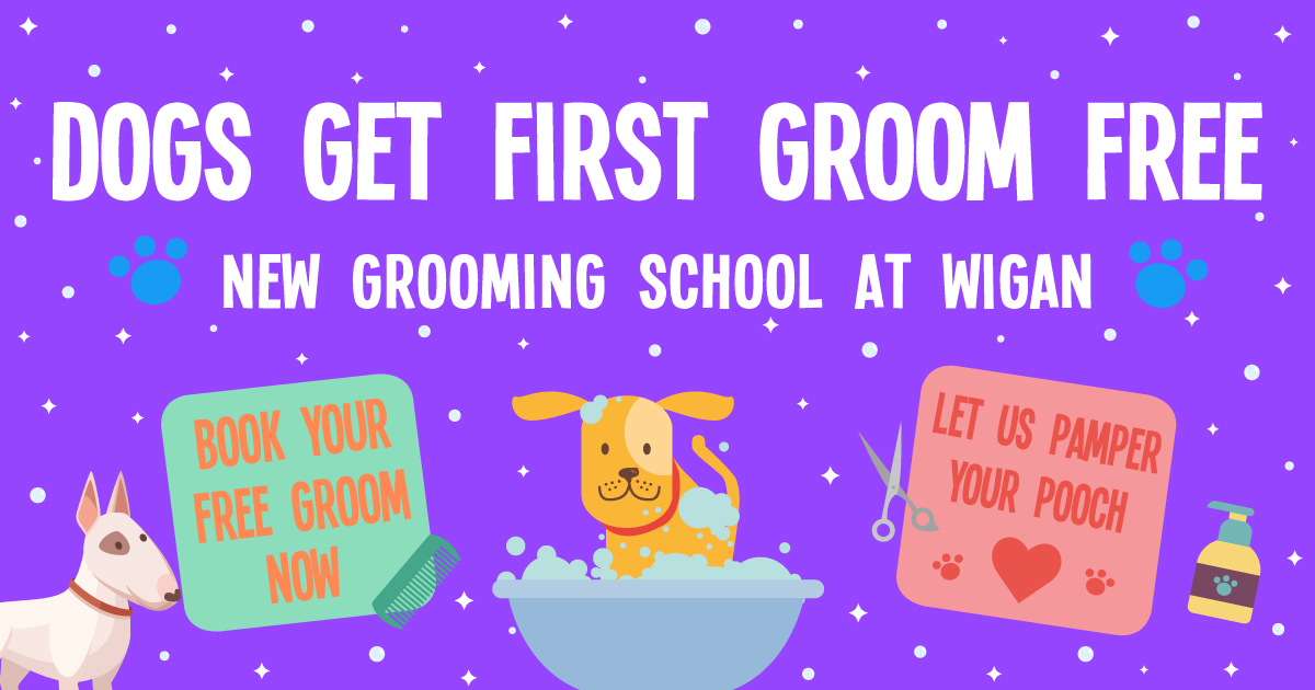 First Groom Free at New Wigan Grooming School