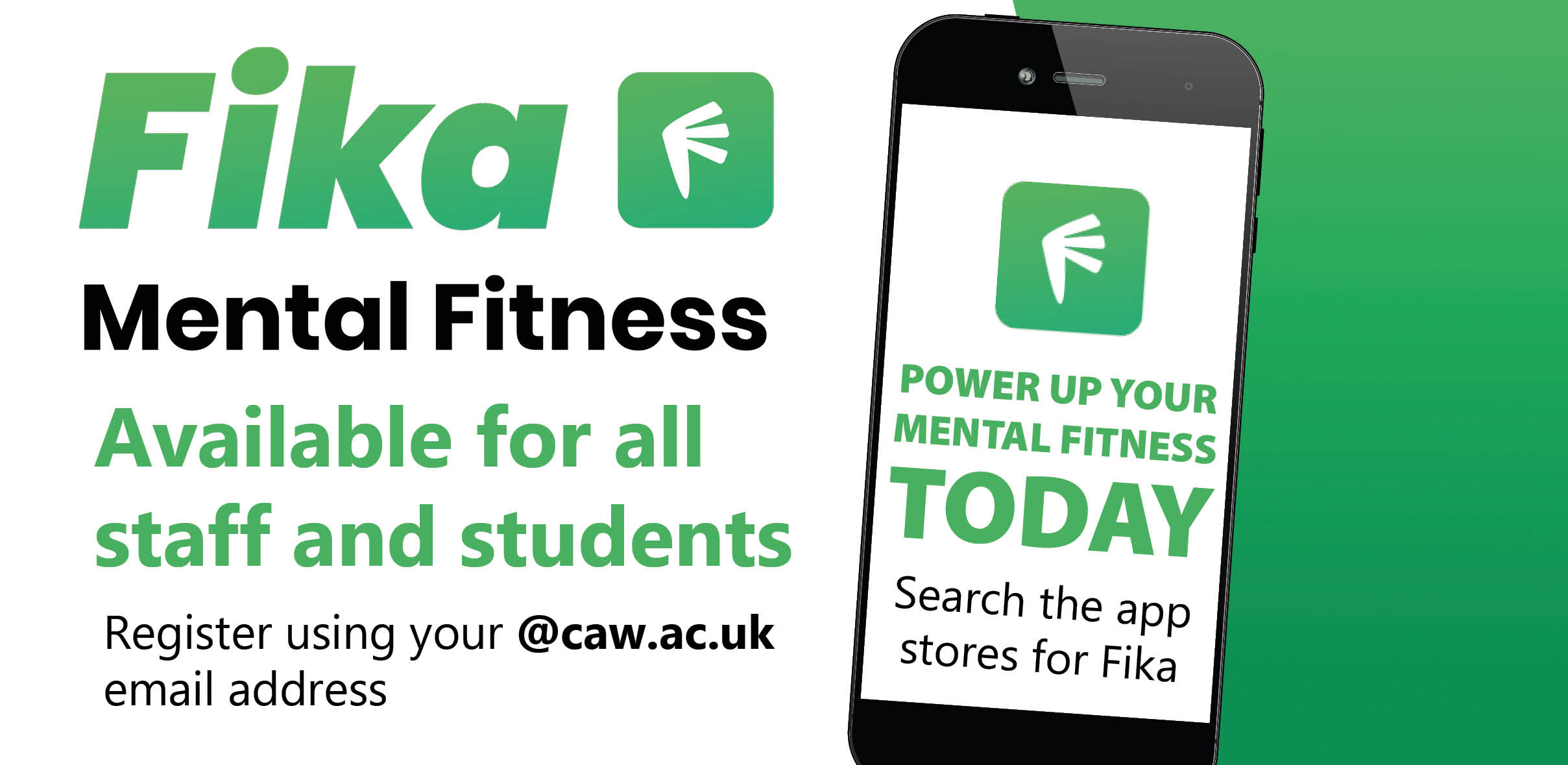 Fika - Free mental fitness app for all students